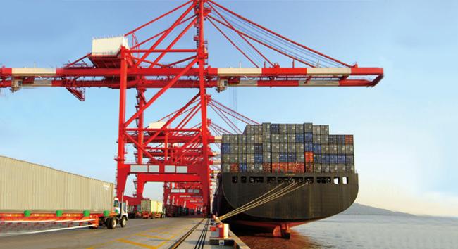 起重轨应用于各大港口码头